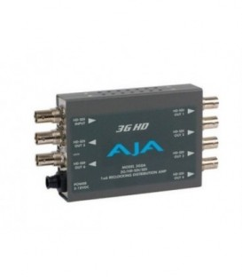 AJA 3GDA - 1x6 3G/HD/SD Reclocking Distribution Amplifier