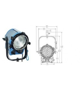 Arri L3.39610.B - True Blue T1 Lamphead