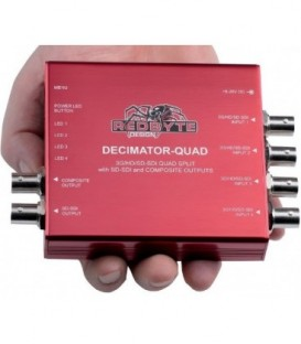 Decimator DD-DEC-QUAD - DECIMATOR QUAD: 3G/HD/SD-SDI Quad Split