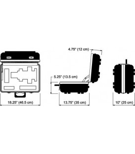 Dedolight DCDP400 - Heavy Duty Transport Case