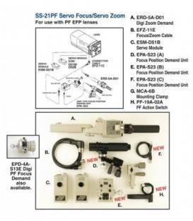 Fujinon SS-21D-PF - Remote kit Servo