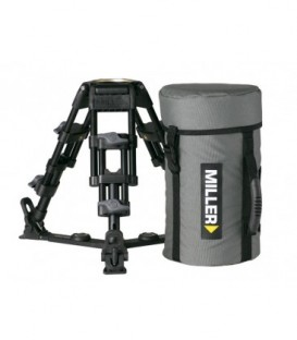 Miller 455 - Baby Legs Toggle 2-St Alloy Tripod