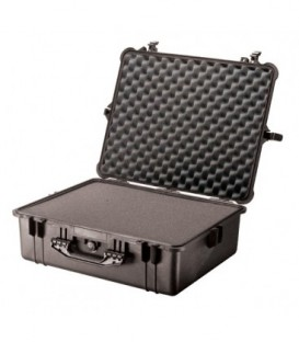 Pelicase 1600-000-110E - Protector case with foam, Black