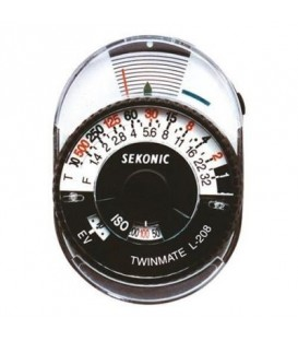 Sekonic L-208 Twinmate - Analog Incident and Reflected Light Meter