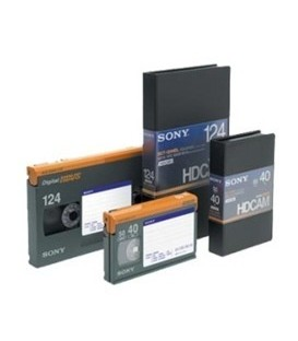 Sony BCT124HDL - HDCAM Video tape, Large