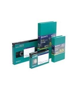 Sony BCT124MXL - MPEG IMX Video tape, Large
