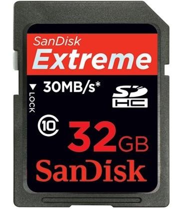 Sandisk Extreme III - SDHC 32GB card