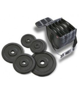 Movietech M1000-Set - Set of round counterweights for DSLR Light-Jib