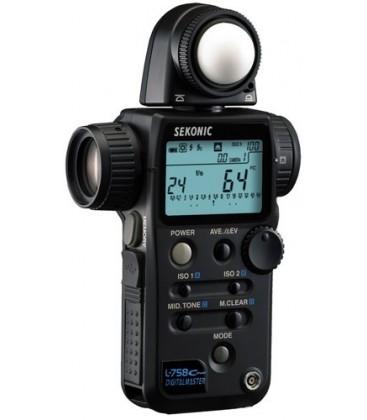 Sekonic E100390 - L-758 Cine DigitalMaster FilmMeter