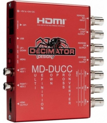 Decimator DD-DUCC - MD-DUCC: Multi-Definition Up Down Cross Converter