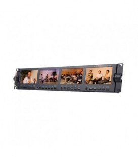 Datavideo 2100-0434 - TLM-434H - 4 x 4.3 inches HD/SD TFT LCD Monitor