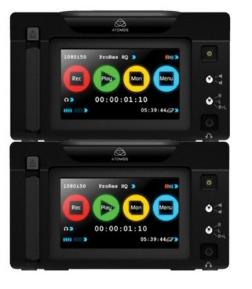 Atomos ATOMRON201 - Ronin Portable Duo Recorder Monitor Unit