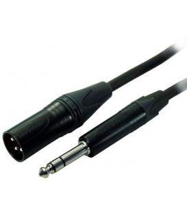 Contrik NMK0.5MP3-BL - XLR to Jack 0.5m Cable (black)