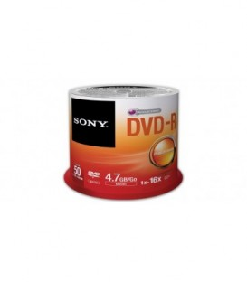 Sony 50DMR47SB - DVD-R 4.7GB Recordable Media (50 Discs, Bulk)
