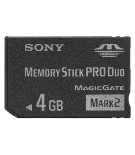 Sony MSMT4GN - MS PRO Duo Mark2 4 GB (without Adaptor)