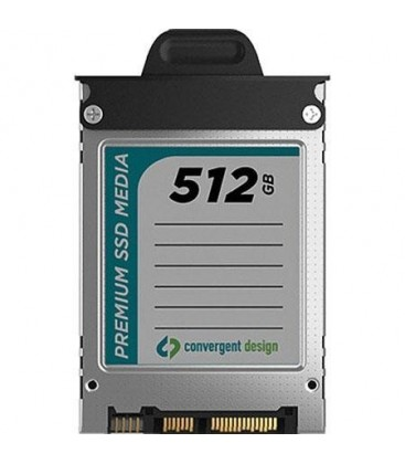 Convergent Design CD-OD-SSD-512GB - 512GB SSD for Odyssey7 and 7Q