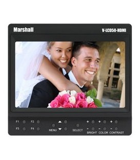 Marshall V-LCD50-HDI - 5 inches Camera Top Monitor
