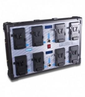 Blueshape CVS8W - Studio charger Vlock batteries  - WALL MOUNTING