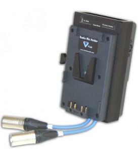 Hawkwoods VL-RM6P - Wisycom MCR42 Dual-Channel V-lok Radio Mic Holder