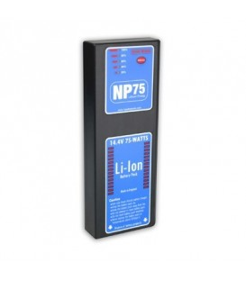 Hawkwoods NP-75 - 14.4V 75Wh NP1 Lithium-Ion Battery