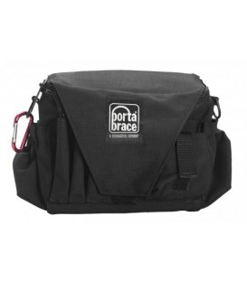 Portabrace AC-3B - AC Pouch with Shoulder Strap, Black