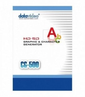 Datavideo 2400-1060 - CG-500 - SD/HD Advanced TimeLine based CG