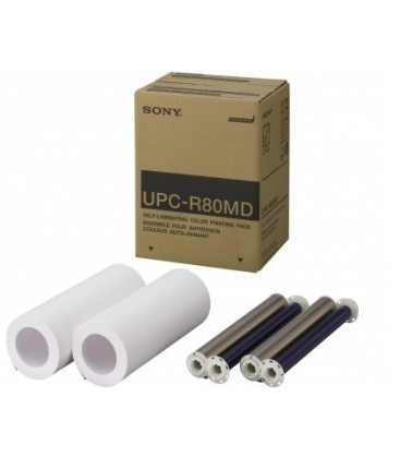 Sony UPC-R80MD/MED - A4 Self Laminating Colour Printer Pack for UP-DR80MD