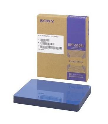 Sony UPT-510BL - 8 x 10 inch Blue Thermal Film for UP-DFxxx Printers