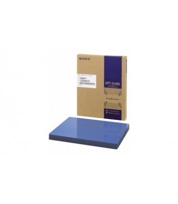 Sony UPT-514BL - 11 x 14 inch Blue Thermal Film for UP-DFxxx Printers
