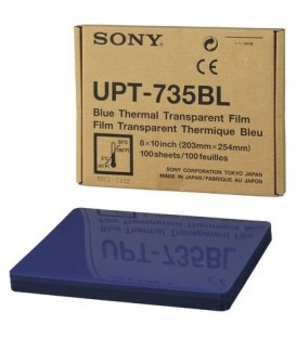 Sony UPT-735BL - 8 x 10 Inch Blue Thermal Film for UP-D72XR