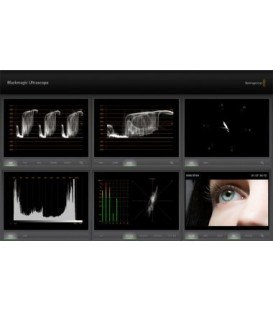 Blackmagic BM-JOSCOPE-2HENOMON - Ultra Scope Complete System 2HE 19inches Rackmount