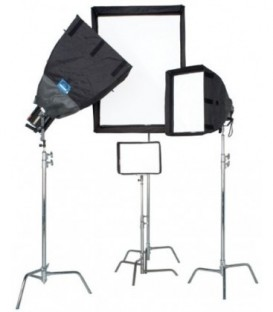 Chimera 8225 - Lightbank - Daylite Jr Plus W/ 3 Screens - Small