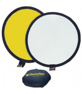 Dedolight DFGW81 - Dedoflex softgold/white reflector disc