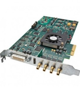 AJA KONA 4 - 4K,2K,3G-SDI I/O - 10-bit 8-lane PCIe 2.0 Card - 4K HDMI output and HFR 4K SDI