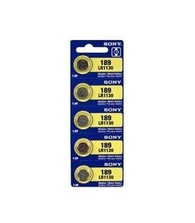 Sony LR1130NBEA - Mini Alkaline 5 pcs Strip Pack, Mercury free model