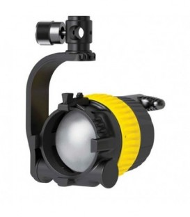 Dedolight DLED4SE-BI-E - Focusing LED light head, Bicolor