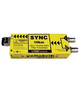 Lynx O TX 1712-2 SC - Analog Sync / Video Fiber Optic Transmitter