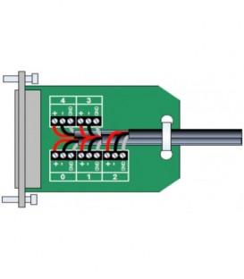 Lynx R BO 5015 - OPTION: SubD 15 Pin Audio Adapter PCB