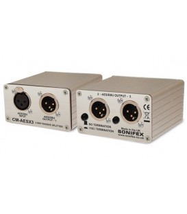 Sonifex CM-AESX3 - Single 3 Way AES/EBU Passive Splitter With XLR Connectors