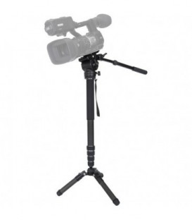 Varizoom CHICKENFOOT-HEAD - Carbon Fiber 4-stage Fluid Head Monopod