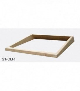 Sonifex S1-CLR - S1 Wooden Collar for Angled Flush Fixing