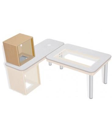 Sonifex SOL-D12 - S2 Solutions 12U Desk Top 19 inches Rack