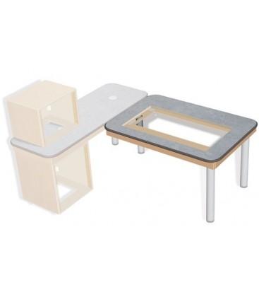 Sonifex SOL-MB1300 - S2 Solutions 1300mm (W) x 900mm (D) Mixer Desk Top