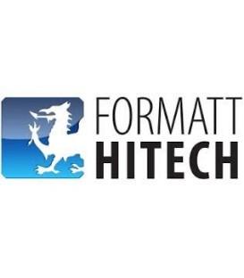 Formatt BF6x6UVHAZ2A4 - HItech Glass 6.6x6.6