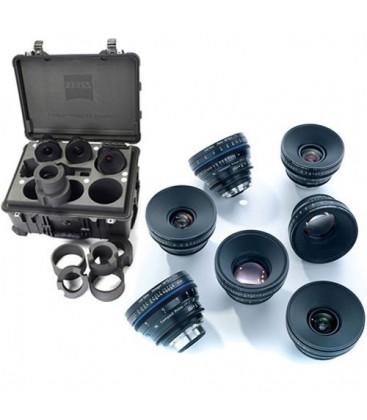 Zeiss 1769-713 - 7 Lens Custom Set, Basic