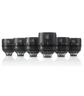 Sony SCL-PK6/M - CineAlta PL Lens Pack (6 lenses) - METER