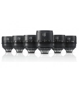 Sony SCL-PK6/F - CineAlta PL Lens Pack (6 lenses) - FEET