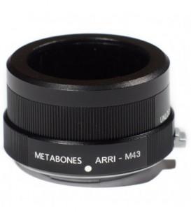 Metabones MB_Arri-m43-BM1 - Arriflex to Micro FourThirds adapter (Black Matt)