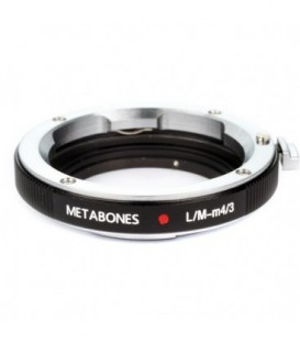 Metabones MB_LM-m43-BM2 - Leica M to Micro FourThirds adapter (Black Matt)