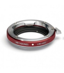 Metabones MB_LM-m43-RM1 - Leica M to Micro FourThirds adapter (RED)